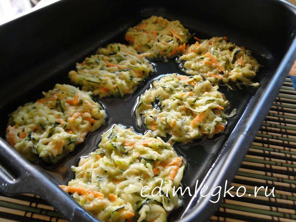 Кабачковые оладьи рецепт в духовке