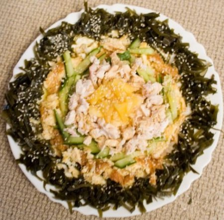 Салат из курицы по-тайски