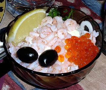 Морской салат-коктейль