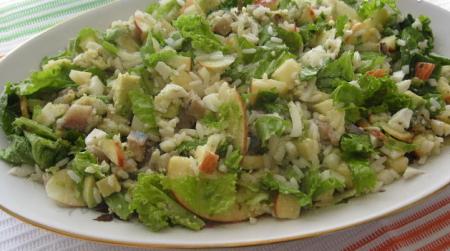 Салат с авокадо и сельдью