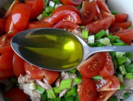 "Салат с тунцом ""Ницца"""