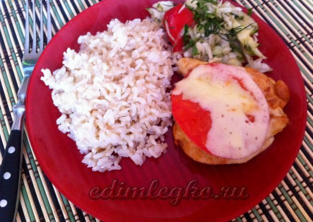Бурый рис с курицей рецепт