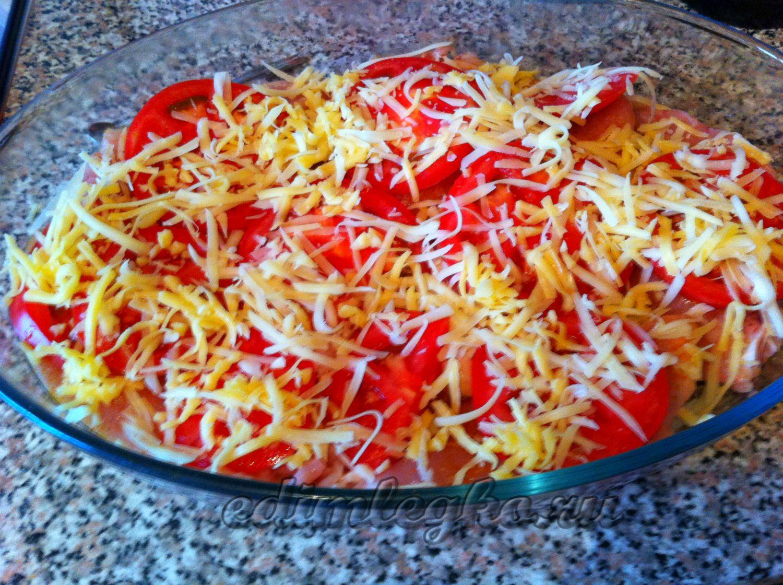 Курица с помидорами в духовке рецепты пошагово