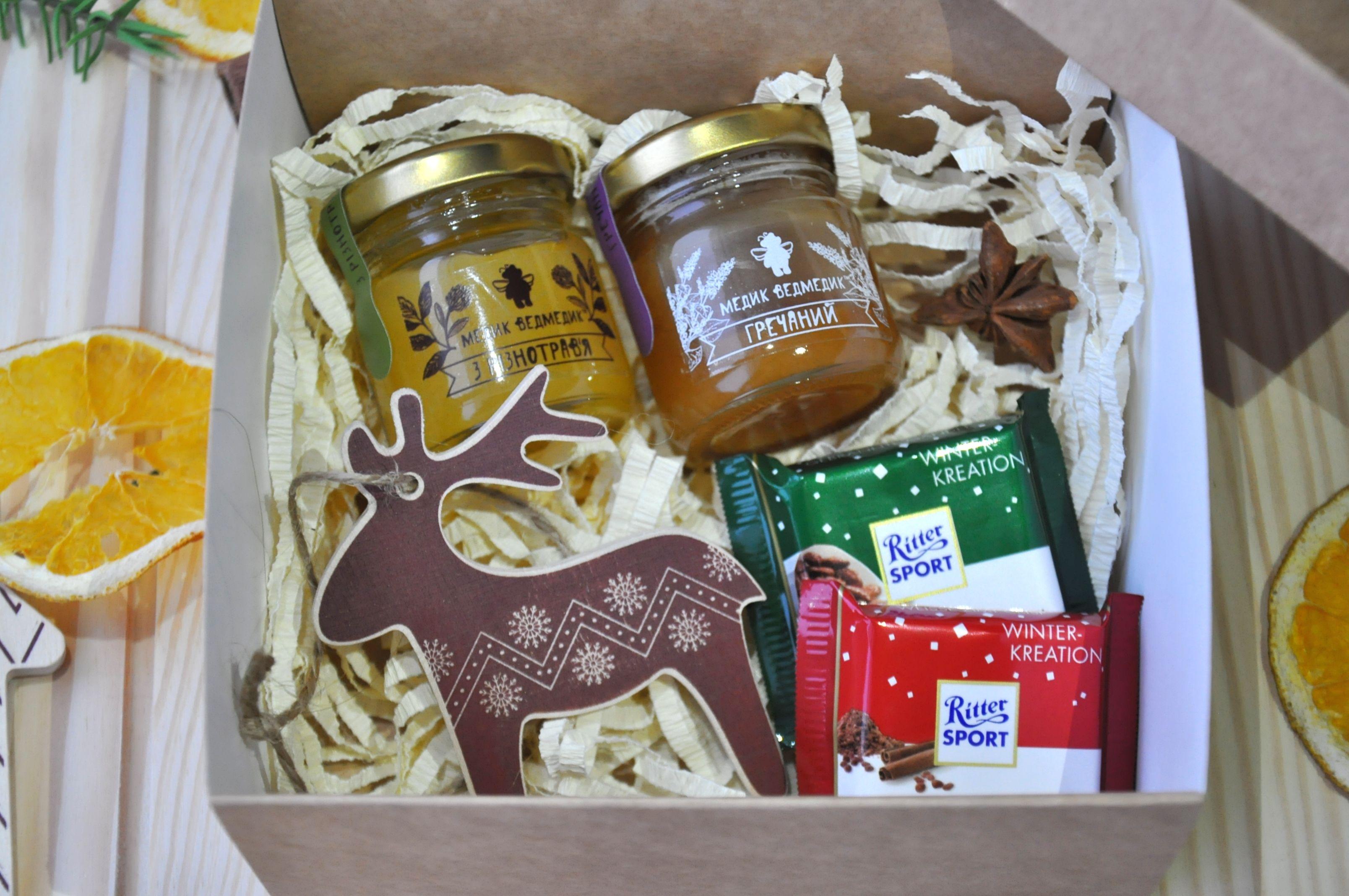 Подарочная коробочка с медом