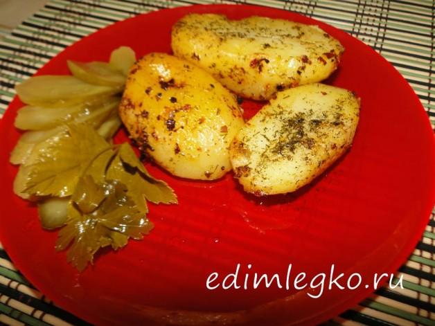 Картофель обжаренный в пряностях