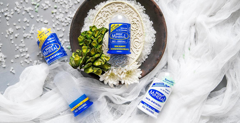 Кристаллический и солевой дезодоранты: что выбрать?