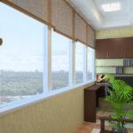 Балконы — остекление разными способами (Украина)
