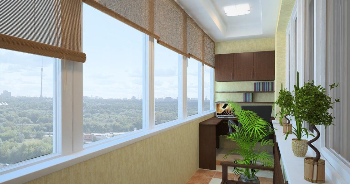 Балконы - остекление разными способами (Украина)