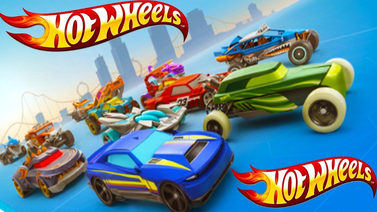 Hot Wheels – горячие машинки для активных детей