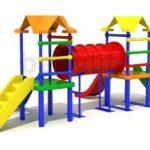 Деревянные детские площадки от playgrounds34.ru